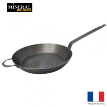 de Buyer - Mineral B Element - runde Eisenpfanne 32 cm