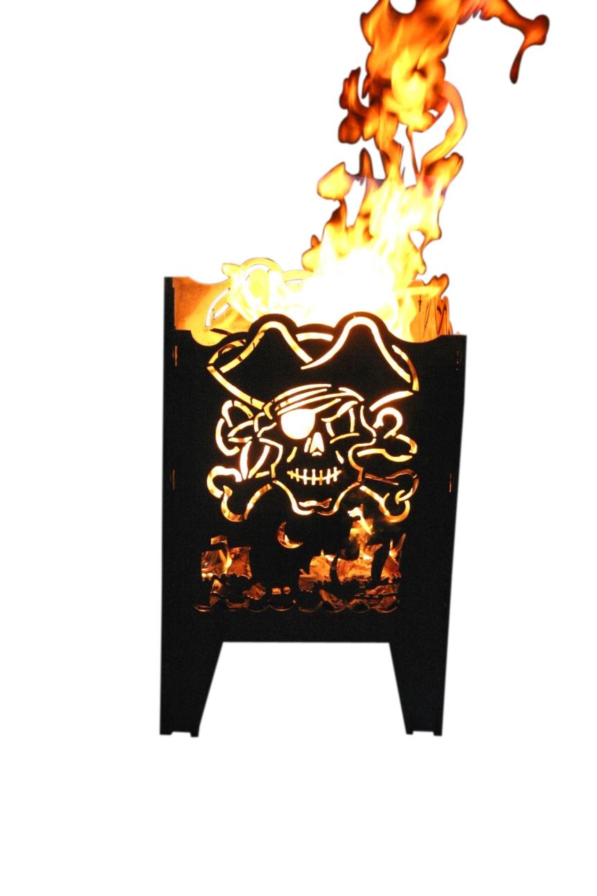 alpenline feuerkorb pirat in verschiedenen gr en. Black Bedroom Furniture Sets. Home Design Ideas