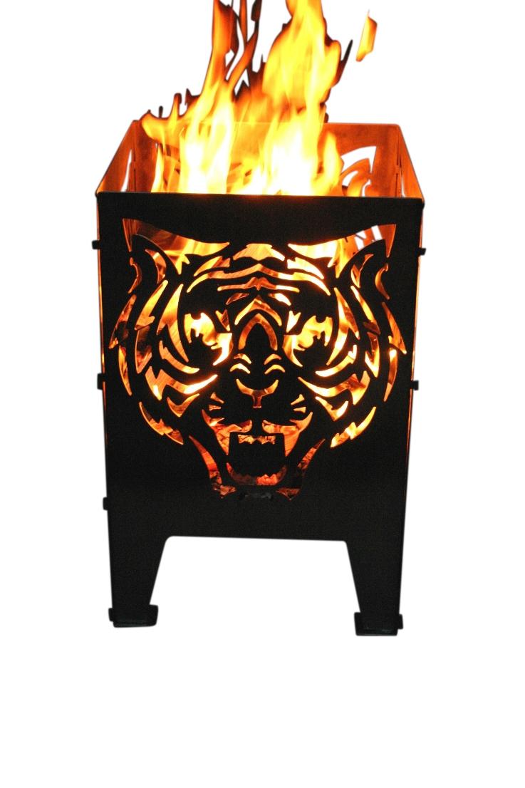alpenline feuerkorb tiger in verschiedenen gr en. Black Bedroom Furniture Sets. Home Design Ideas