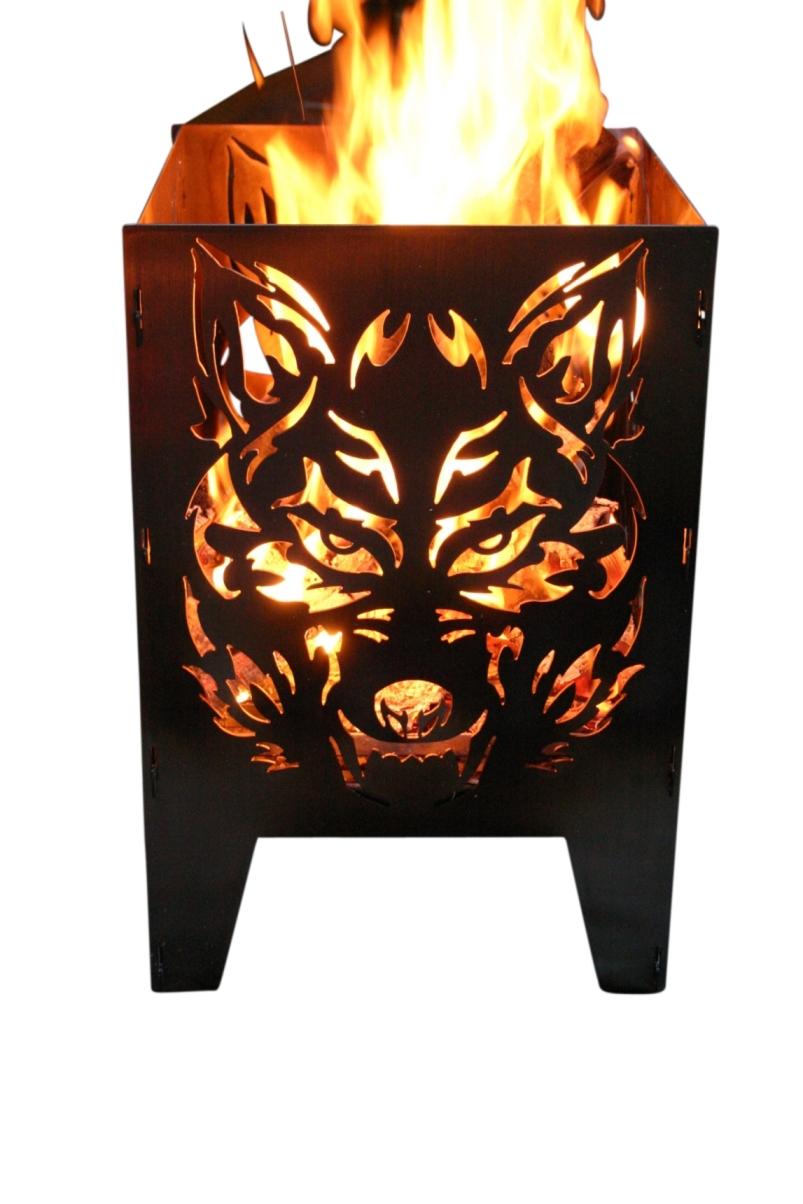 alpenline feuerkorb wolf in verschiedenen gr en. Black Bedroom Furniture Sets. Home Design Ideas